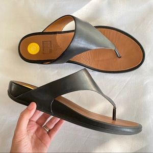 Fitflop Leather Slippers size 10 US / 42 EU